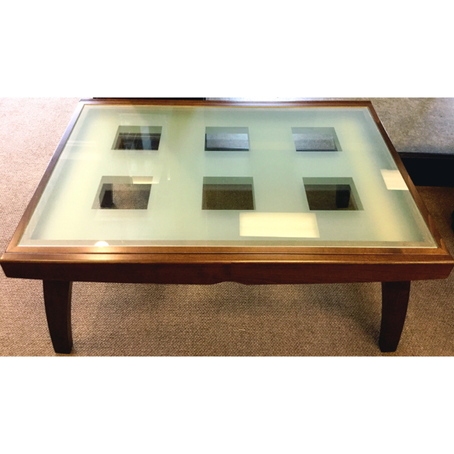 Calligaris Espresso 47.5 L 35.5W Coffee Table_70422A