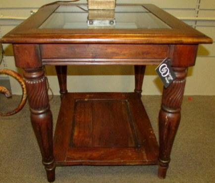 Superior Schnadig Mahogany 24 W 28D End Table_67843A