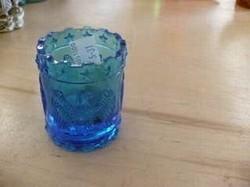Blue Votive Candleholder