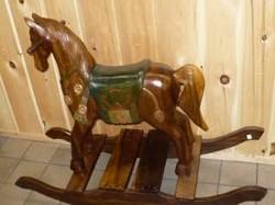 Carved Rocking Horse