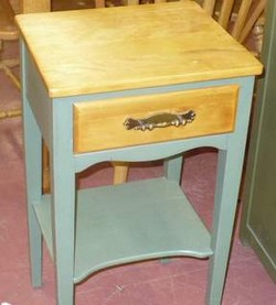 Pine Wood Accent Table
