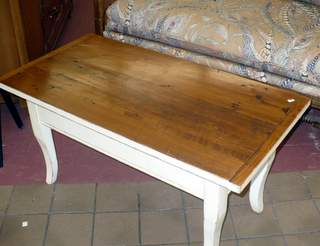 primitive wood top coffee table cherished possessions