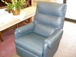 Two Blue Recliners