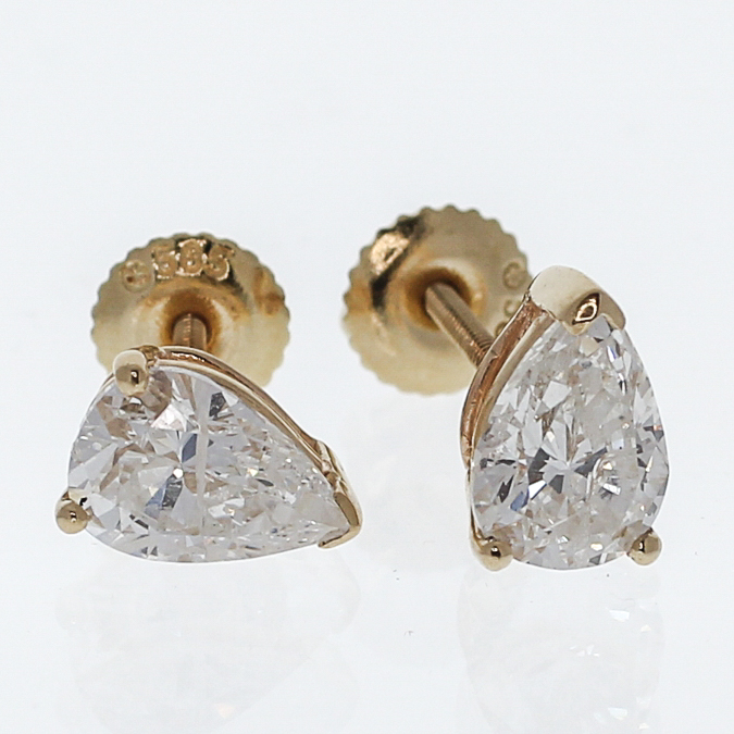 shaped of pear earrings multi pair a stud drop collections diamond studs graff classic shape