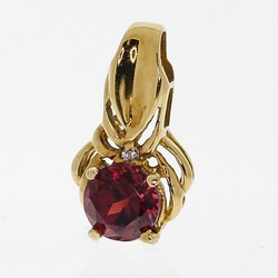 Red garnet pendant design with consignment llc red garnet pendant mozeypictures Gallery