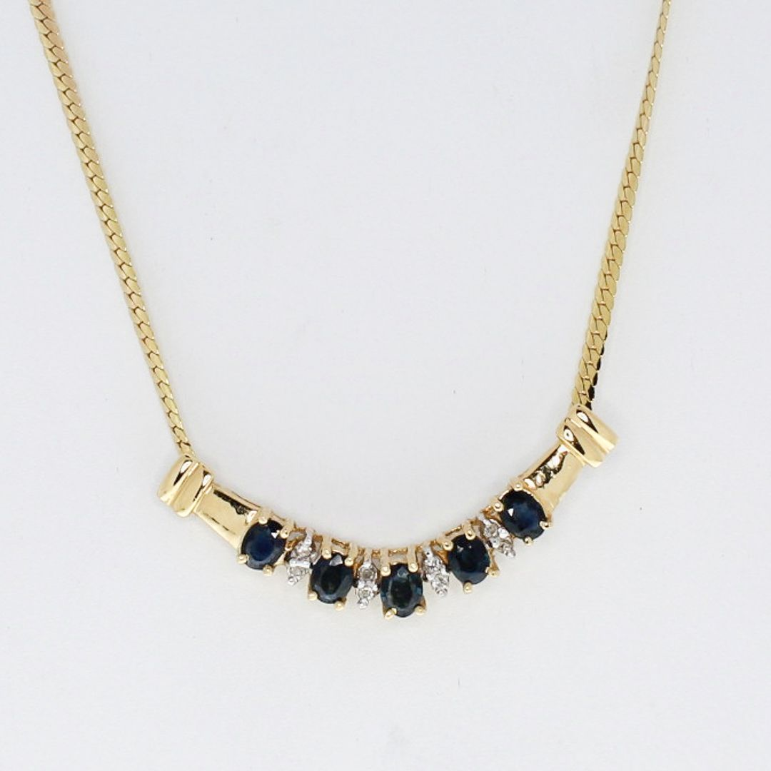 79e387703895a Sapphire-and-Diamond-Bar-Pendant-with-Gold-Chain 82900A.