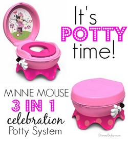 The First Years Disney Minnie Mouse 3 In 1 Potty System