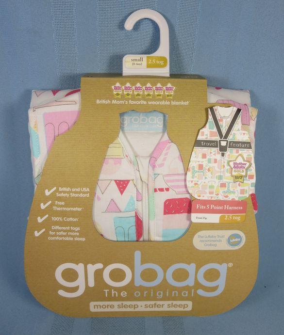 huge selection of 3ec9c 6e0ba The Gro Company Grobag Sleepsack Sweet Dreams 0-6 Months 2.5 Tog
