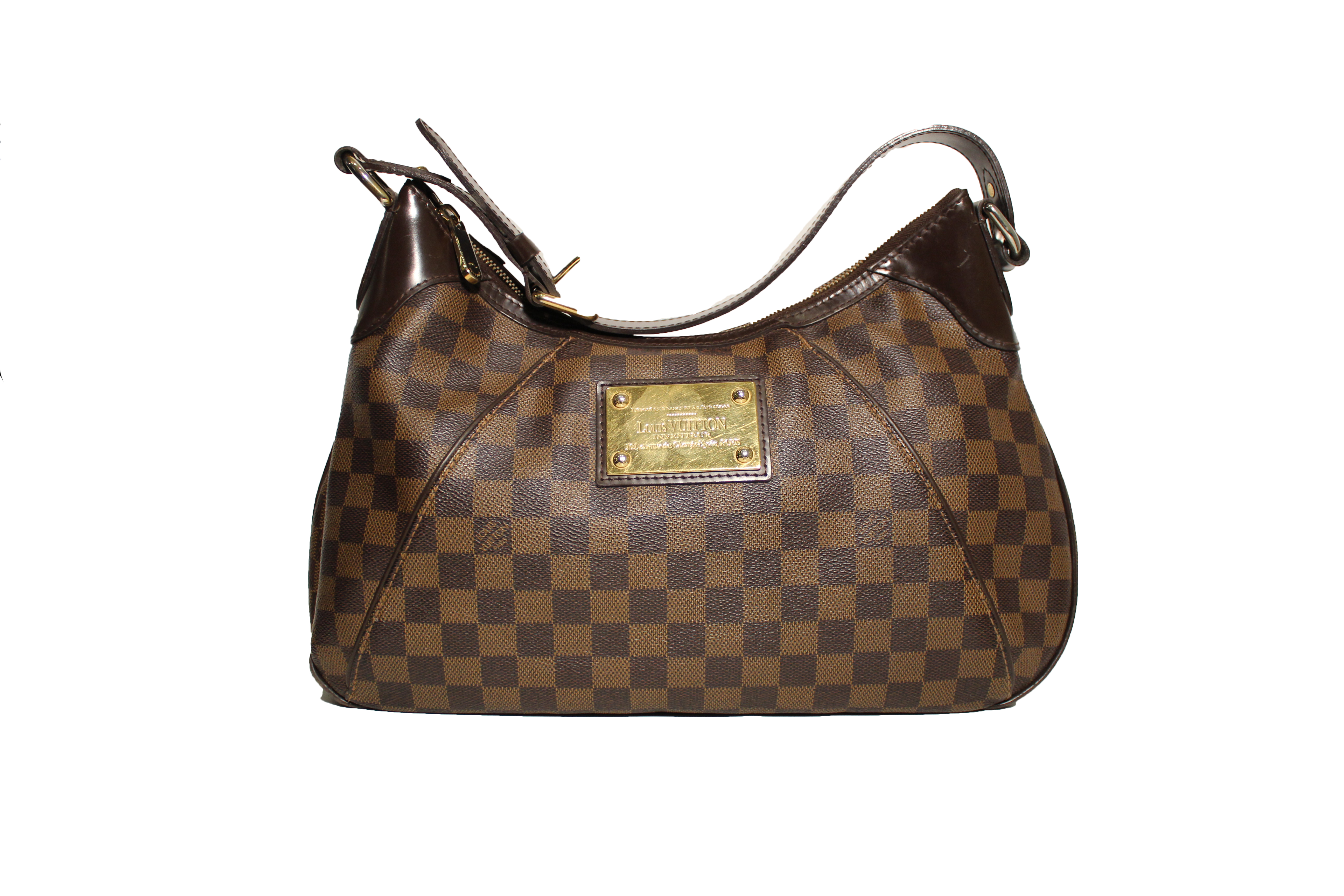 Louis Vuitton Damier Ebene Shoulder Bag 46