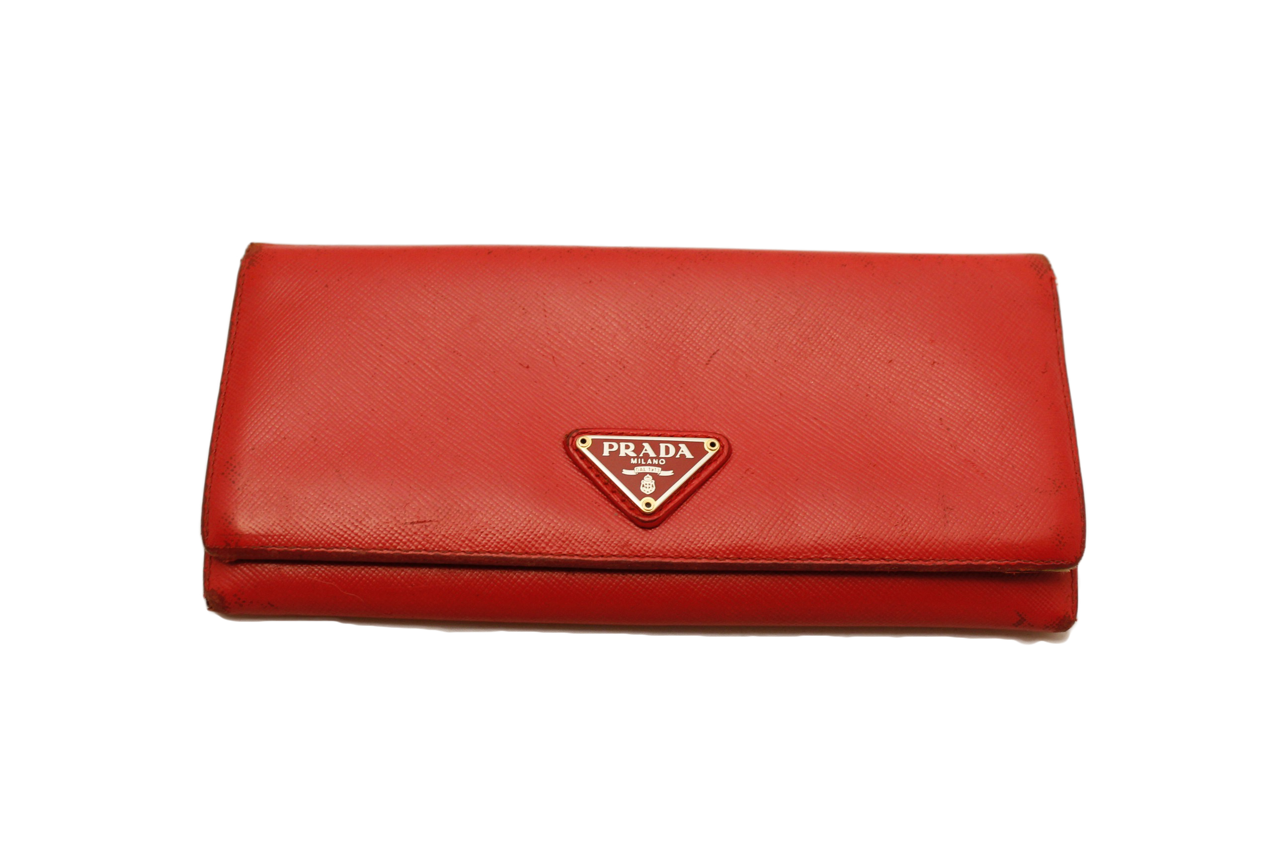 prada flower bag - PRADA Red...