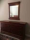 Hooker Furniture Double Dresser and Mirror