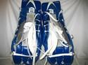 Used-Bauer-X60-Pro-Size-36-Blueblackwhite-Ice-Hockey-Goalie-Leg-Pads_37275D.jpg