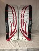 Used-Vaughn-V5-7800-Size-362-Wht-Red-Blk-Ice-Hockey-Goalie-Leg-Pads_48988A.jpg