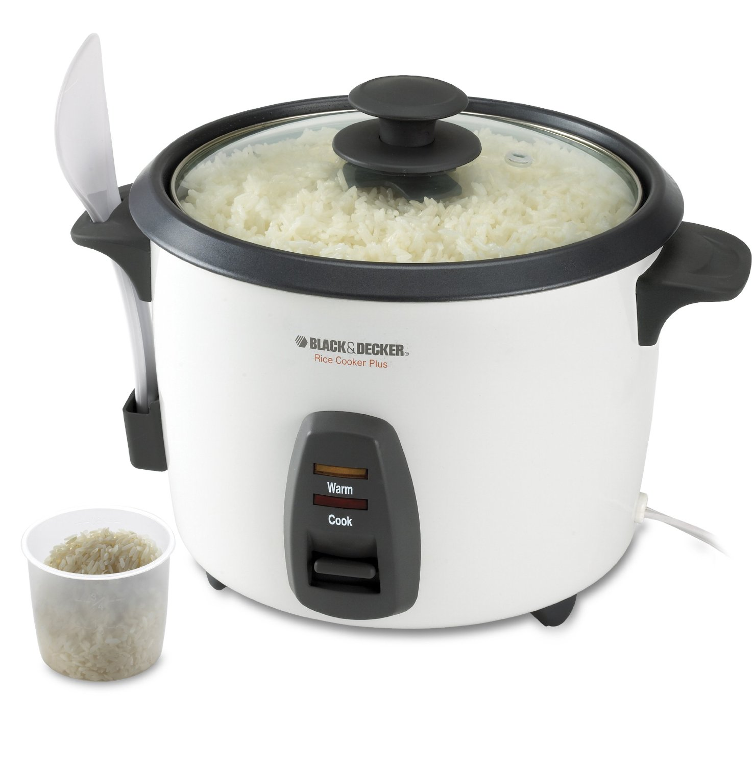Black Decker Rc436 16 Cup Rice Cooker White Kentuckiana Trading Llc 44681a