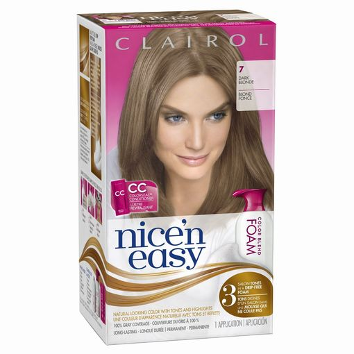 clairol nice n easy foam hair color 7 - Clairol Nice And Easy Colors