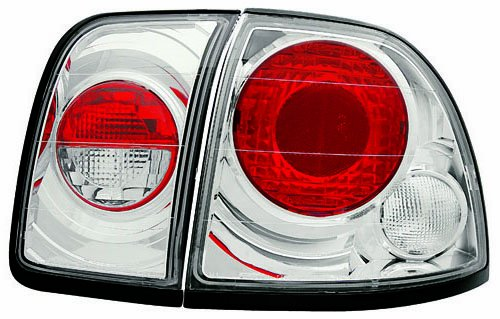 IPCW CWT-736C2 Crystal Eyes Crystal Clear Tail Lamp Pair
