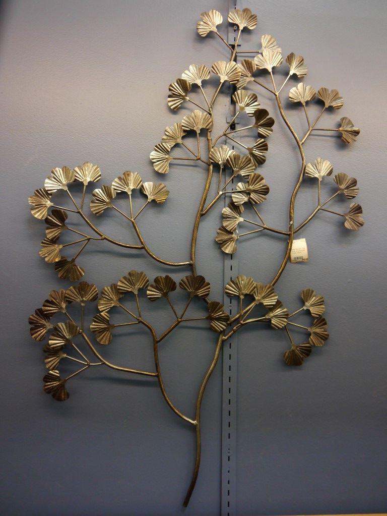 Metal Wall Art Tree metal wall art tree silver & bronze tones   lincoln park emporium