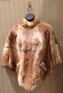 Muriels Size M? Camel Rabbit Cape Fur
