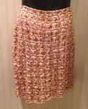 St. John NEW Size 14 Brown Wool Blend Tweed Skirt