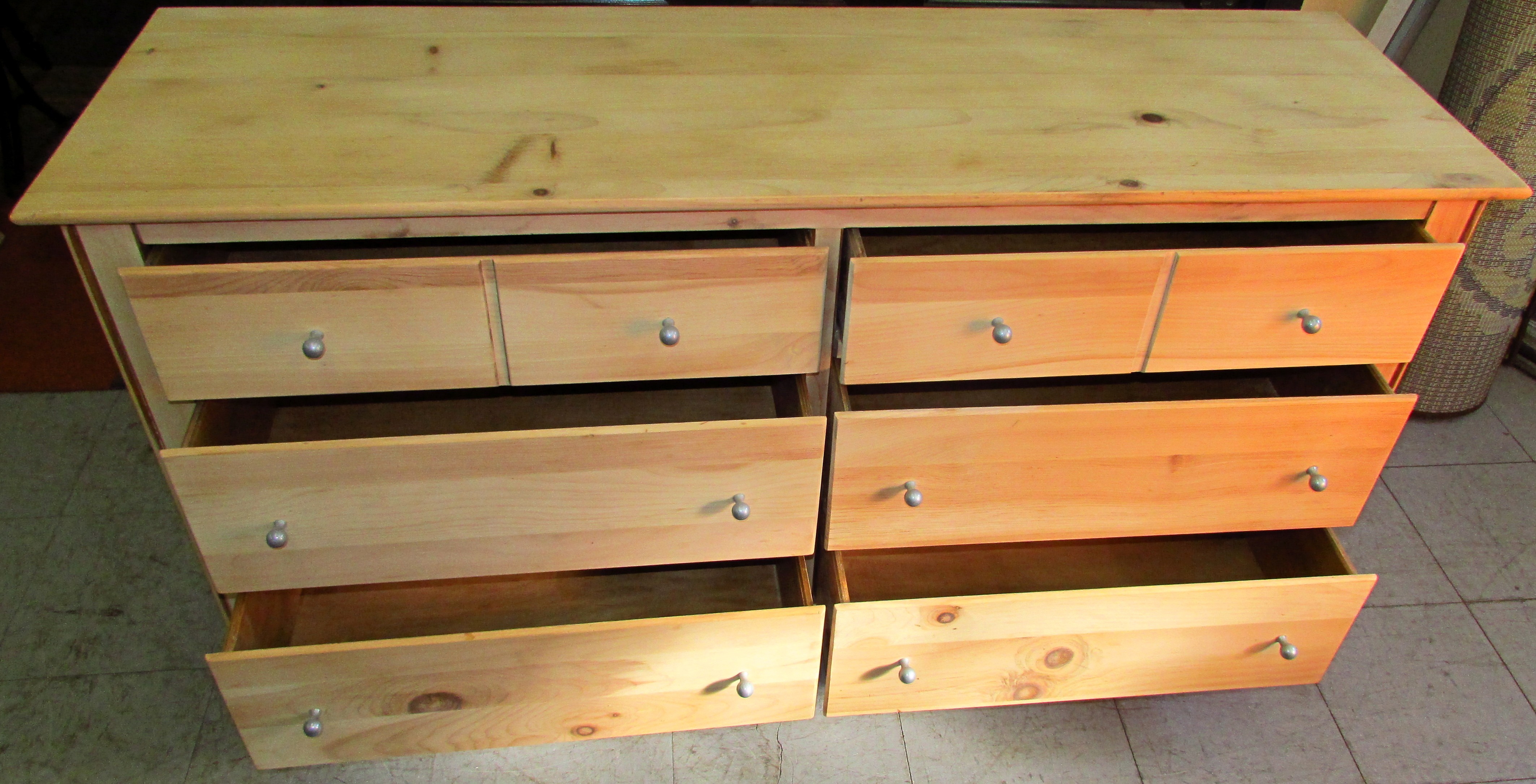 Yield House Shaker Style Double Dresser Phantastic Phinds