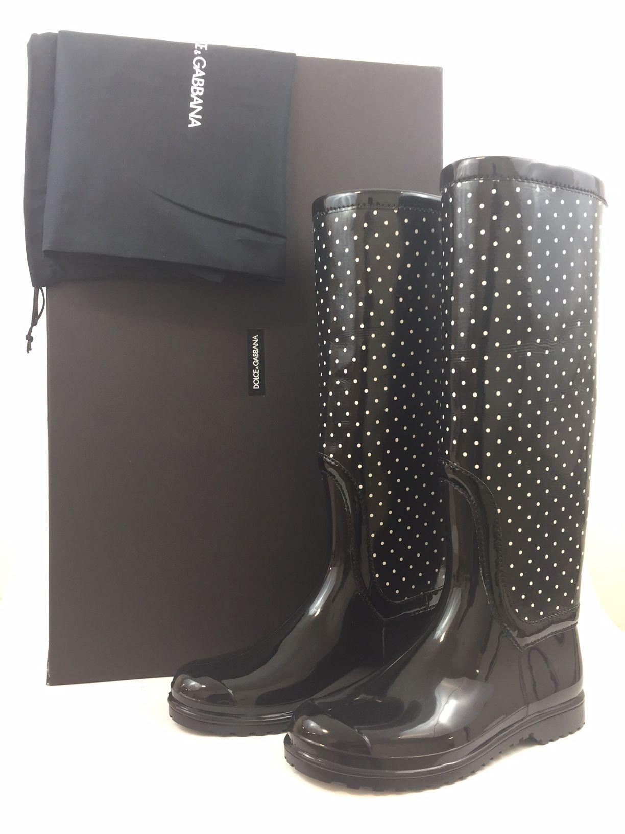 Dolce--Gabbana-Rain-Boots.-St-Pois-Bianco-Nero-Black-w-White-Polka-Dot.-Rubber_226693A.jpg
