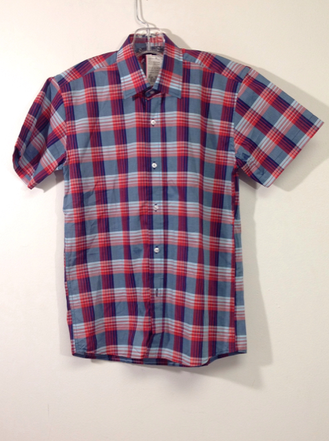 Oscar-de-la-Renta-Size-10-Blue--Red-Cotton-Shirt_557461A.jpg