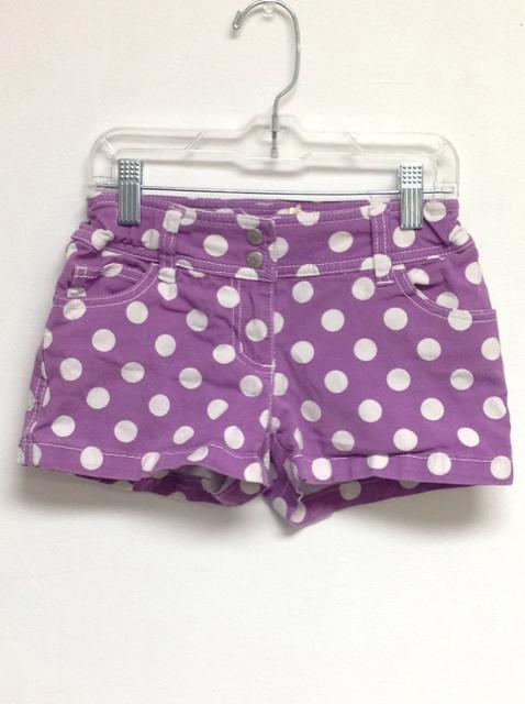 mini boden size 9 purple cotton shorts the second child