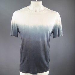 3.1 PHILLIP LIM Size L Gray Cotton Ombre Effect T-shirt