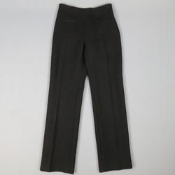 ALAIA Size 6 Black Wool Straight Leg  Dress Pants