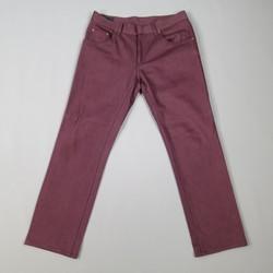 ALEXANDER MCQUEEN Size 32 Burgundy Straight Fit Denim Jeans