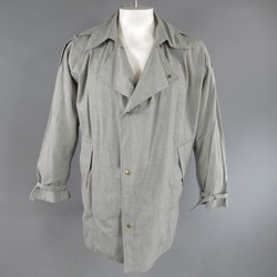 ASSEMBLY NEW YORK Size 38 Gray Linen Parka
