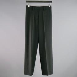 BALENCIAGA Size 0 Black Polyester Blend  Dress Pants