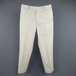 BLACK FLEECE Size 30 Ivory Solid Wool Dress Pants