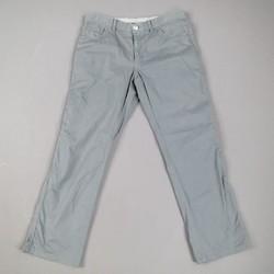 BRIONI Size 32 Slate Teal Gray Cotton Blend Casual Jean Cut Pants