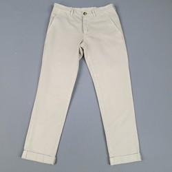 BRUNELLO CUCINELLI Size 30 Beige Solid Cotton Casual Pants