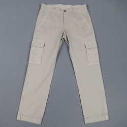 BRUNELLO CUCINELLI Size 31 Cotton Khaki Cargo Pocket Casual Pants