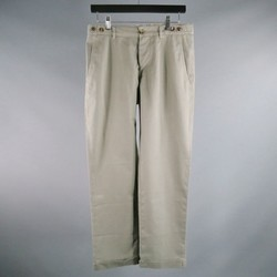 BRUNELLO CUCINELLI Size 31 Slate Solid Cotton Casual Pants