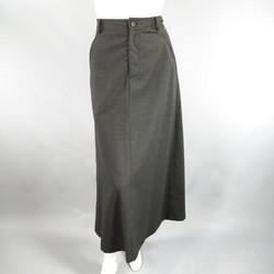 COMME des GARCONS Size M Charcoal Wool Blend Full Skirt