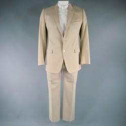 DOLCE & GABBANA 42 Regular Khaki Cotton 33 31 Suit