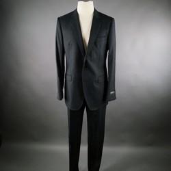 DOLCE & GABBANA 42 Regular Wool Black 34 38 Suit