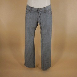 DOLCE & GABBANA Size 31 Gray Solid Denim Jeans