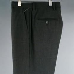 DOLCE & GABBANA Size 32 Charcoal Wool Dress Pants
