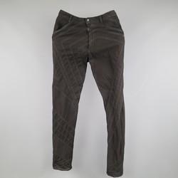 GARETH PUGH Size 28 Black Star Patchwork Denim Skinny Jeans