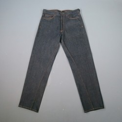 GIVENCHY Size 32 Indigo Solid Denim Jeans