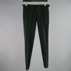 GUCCI Size 2 Black Wool Eastane  Dress Pants