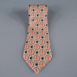 HERMES Mint Silk Tie