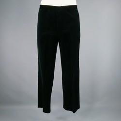 JIL SANDER Size 33 Black Solid Wool Dress Pants