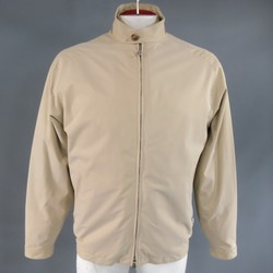 LORO PIANA 44 Khaki Twill Roadster Pebble Beach Concours D'elegance Jacket