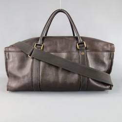 LOUIS VUITTON Brown Utah Leather COMMANCHE 55 Duffle Bag