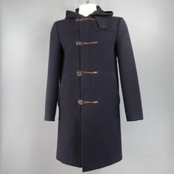 MARC JACOBS 38 Navy Cashmere Coat